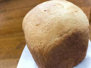 久しぶりの 黒糖きな粉パン