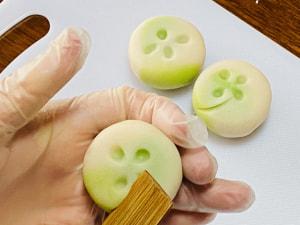おもてなしの和菓子づくり