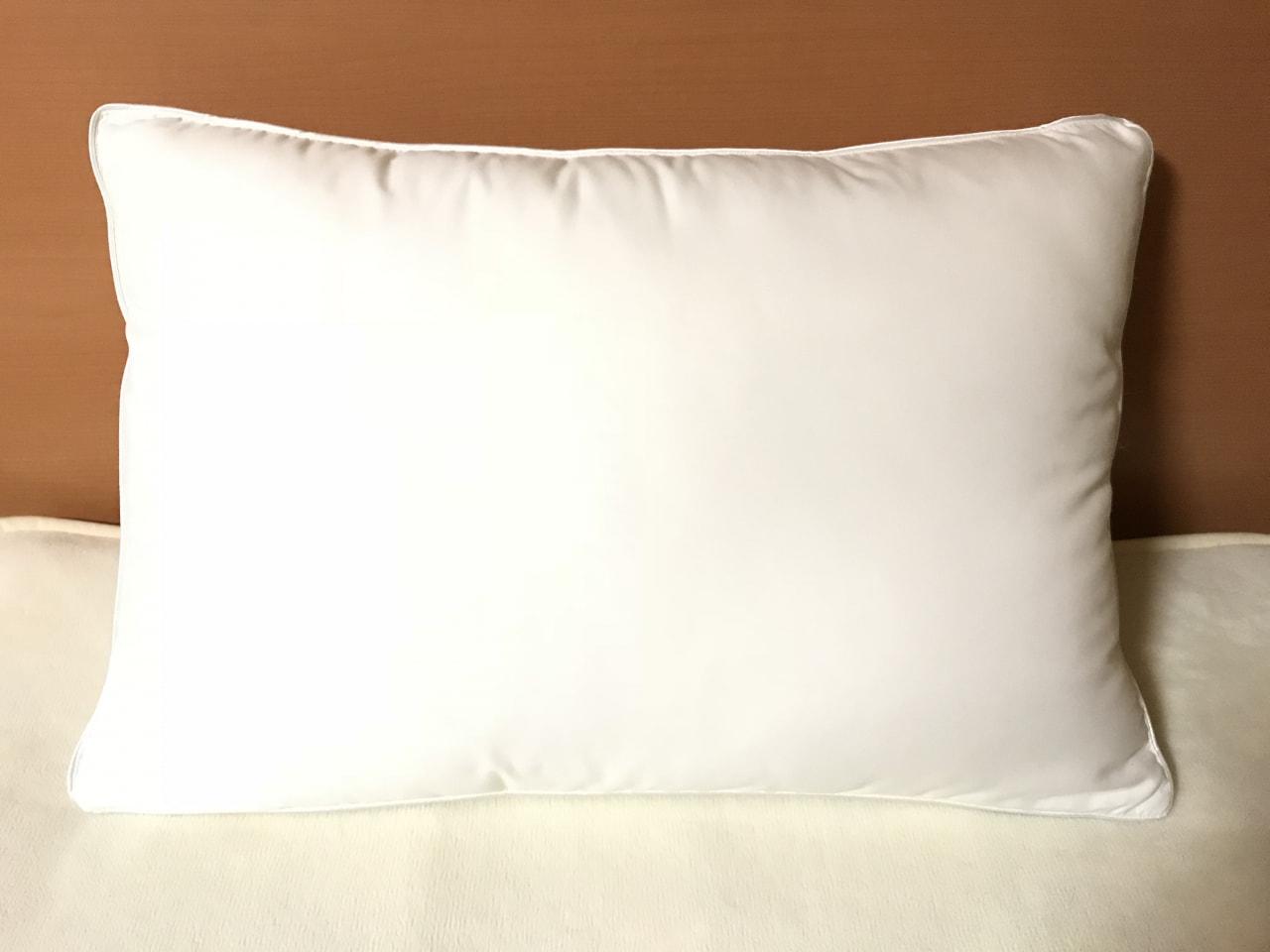 ホテル枕zzz…