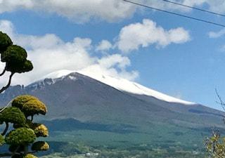 浅間山 真っ白!